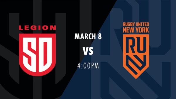 image for Win San Diego Legion Rugby Tickets