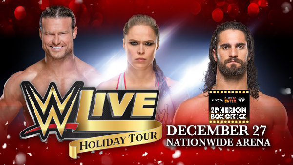 None - Win Tickets To See WWE Holiday Tour