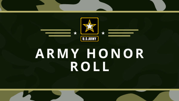 None - Army Honor Roll