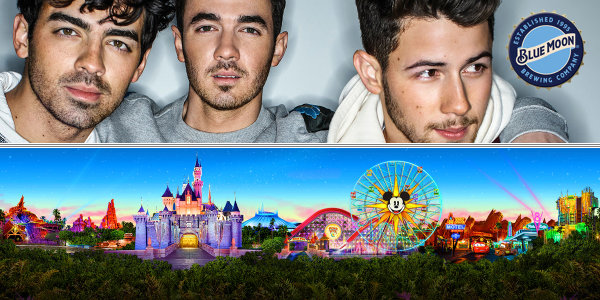 None - Win A Trip To Anaheim to see the Jonas Brothers and go to Disneyland!