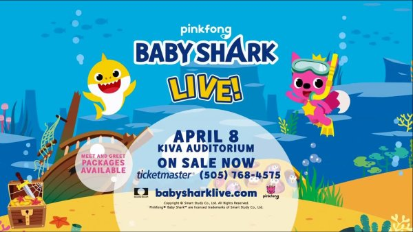 image for Win Tickets To BABY SHARK LIVE!