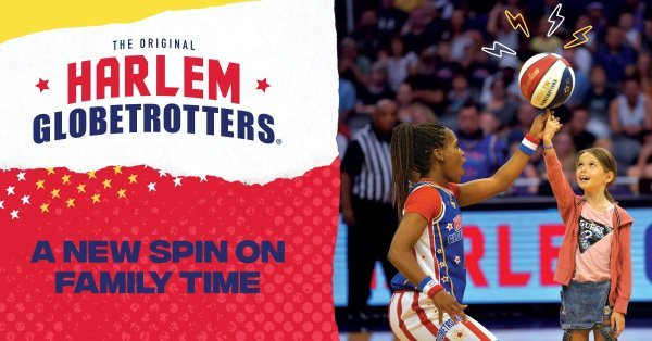 image for Be The Ball Boy/Girl For The Harlem Globetrotters
