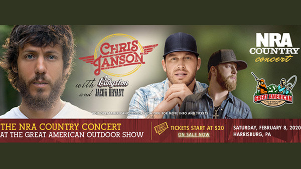 None - NRA COUNTRY CONCERT WITH CHRIS JANSON