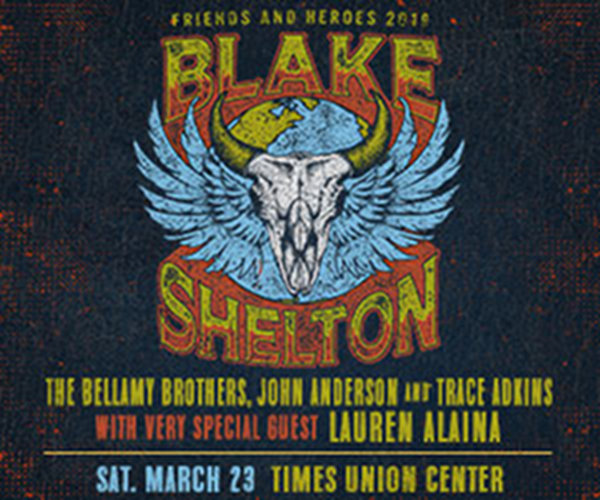 None - See Blake Shelton In Albany!