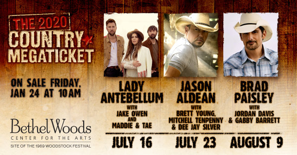 None - 2020 Country MegaTicket at Bethel Woods