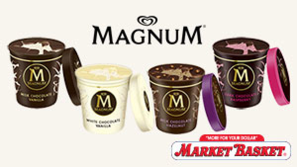 None - Win a $500 Market Basket Gift Card From New Magnum Crackable Tubs