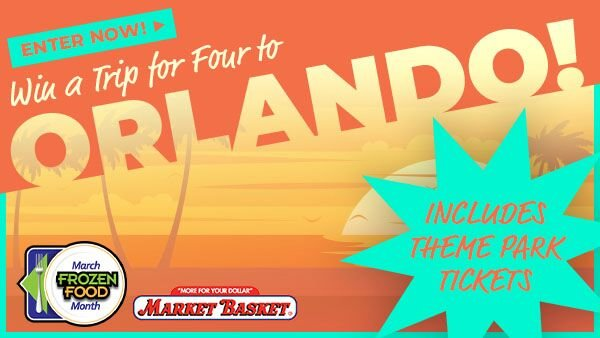 None - Win a grand prize family trip to Florida's famous theme parks!