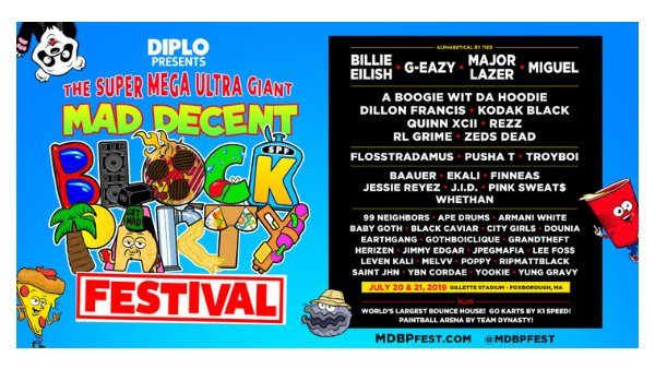 None - Mad Decent Block Party