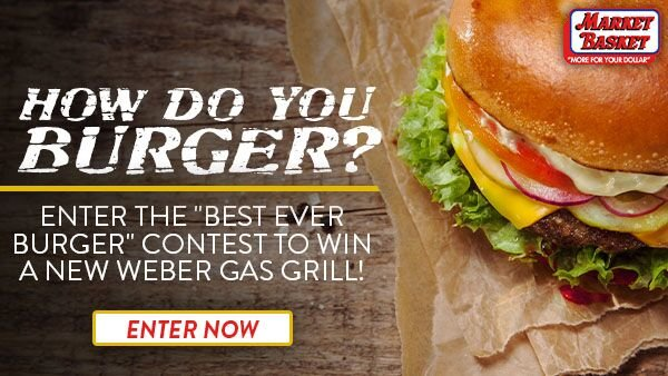 None - Win a Weber Grill, Courtesy of Market Basket!