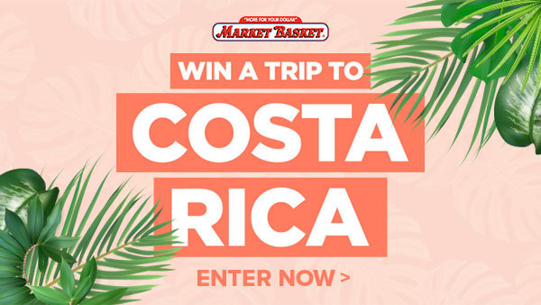 None - Market Basket's Costa Rica Sweepstakes