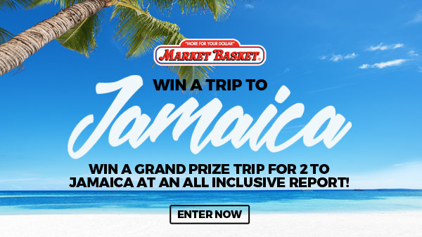 None - Win the Market Basket Jamaica Sweepstakes!