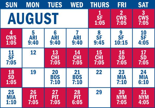 None -  Philadelphia Phillies 2019 Broadcast Schedule