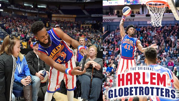 None -  Be a Harlem Globetrotters Ball Boy or Girl!