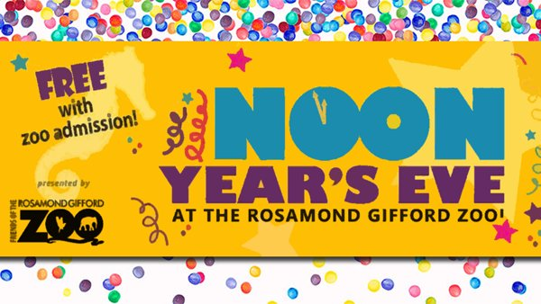 None -  Win Tickets to the Rosamond Gifford Zoo's NOON Year's Eve Party