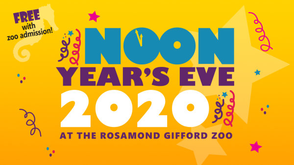 None - Win Tickets to Rosamond Gifford Zoo's Noon Years Eve Party