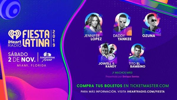 None - iHeartRadio Fiesta Latina 2019