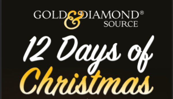 None - Gold & Diamond Source  12 Days of Christmas