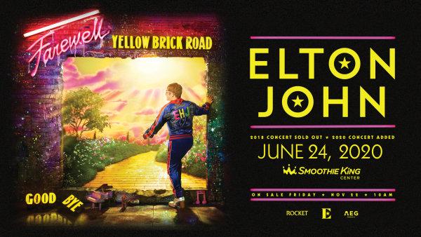 None - ELTON JOHN THREE-YEAR FAREWELL YELLOW BRICK ROAD TOUR