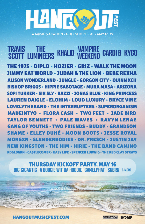 None -  Freeload your 3-Day Passes for the Hangout Music Festival!