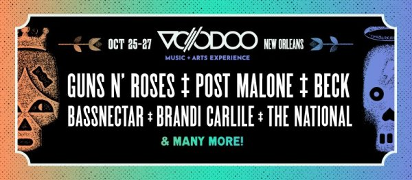 None - Win Tickets to VooDoo Fest 2019!