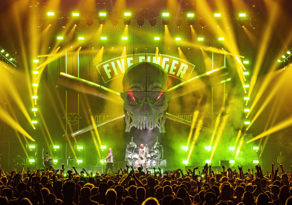 None - Freeload tickets to see Five Finger Death Punch!