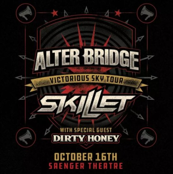 None - Freeload tickets to see Alter Bridge!