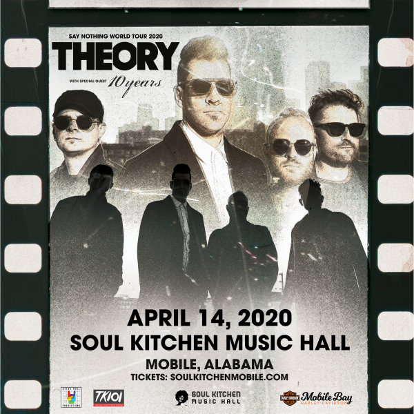 None - Freeload tickets to see Theory Of A Deadman!