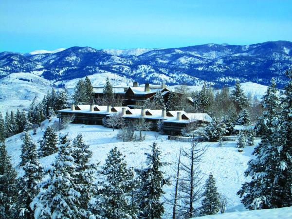None - Enter to Win: Sun Mountain Lodge Winter Getaway