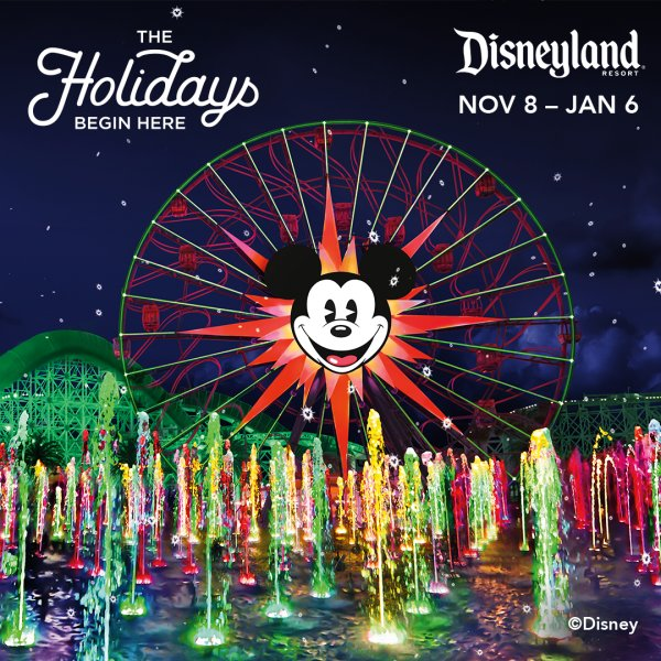None - Win a vacation to the Disneyland® Resort!