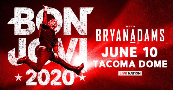 None - Listen to win tickets to Bon Jovi 2020 Tour!