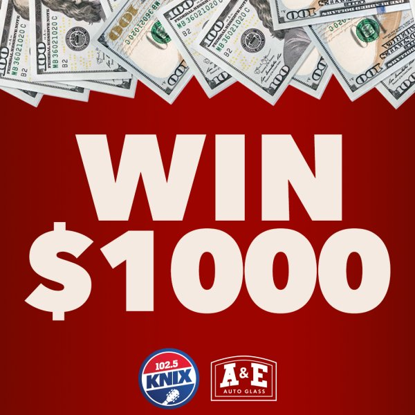 None - $1000 Extra Paycheck On 102.5 KNIX!