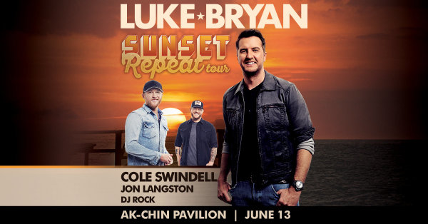 None - Win Tickets to see Luke Bryan!