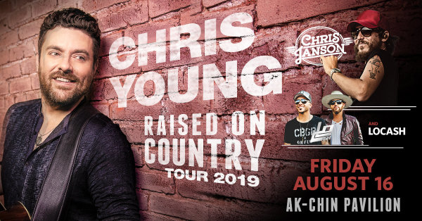 None - Win Tickets to see Chris Young!