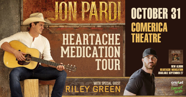 None - Win Tickets to see Jon Pardi!