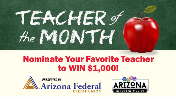 None - Arizona Federal Credit Union's Teacher of the Month