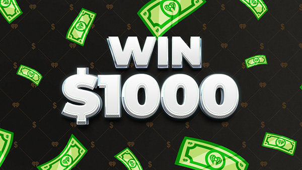 None - Win An $1000 Extra Paycheck On 102.5 KNIX! Listen To Win!
