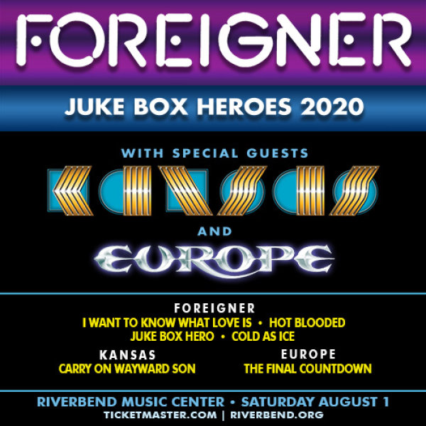 None - Win Tickets to Foreigner!