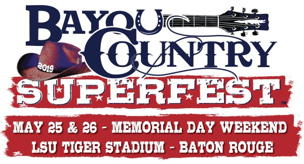 None - Win Tickets to Bayou Country Fest!