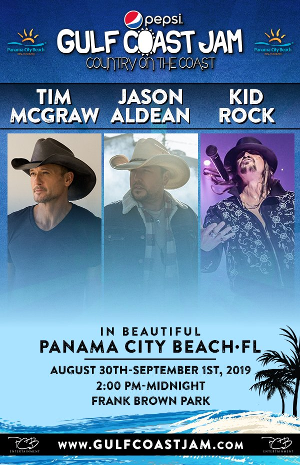 None - Win your tickets to Pepsi Gulf Coast Jam!