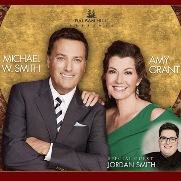 win 2 tickets to michael w smith amy grant christmas plus meet greet