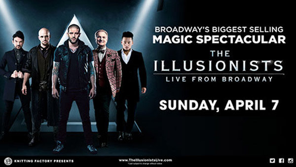 None - Enter to win a pair of tickets to the Illusionists!