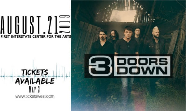 None - Enter to Win a Pair of Tickets to 3 Doors Down!