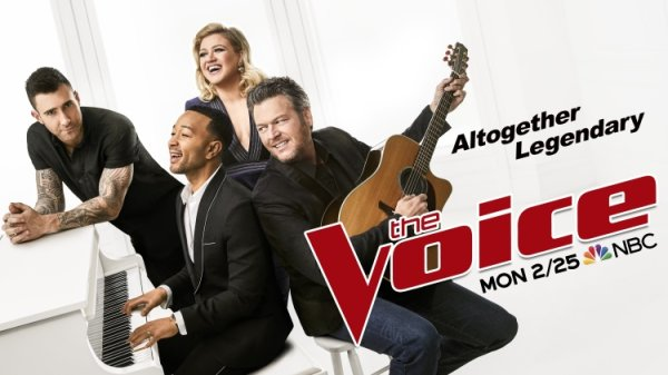 None - See a LIVE Taping of THE VOICE!