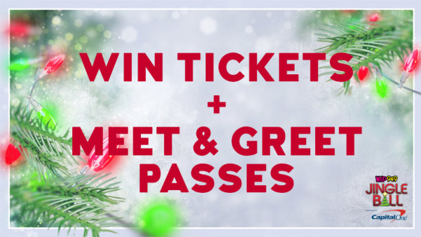 none win tickets plus meet greet passes to wild949jingleball - Bay Area Christmas Radio Stations
