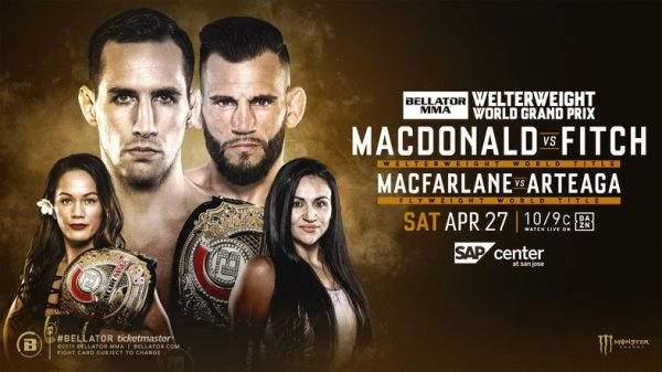 None - Enter For A Chance To Win Tickets To Bellator 220!