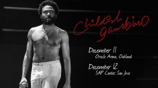 None - Win tickets to see Childish Gambino at SAP Center!