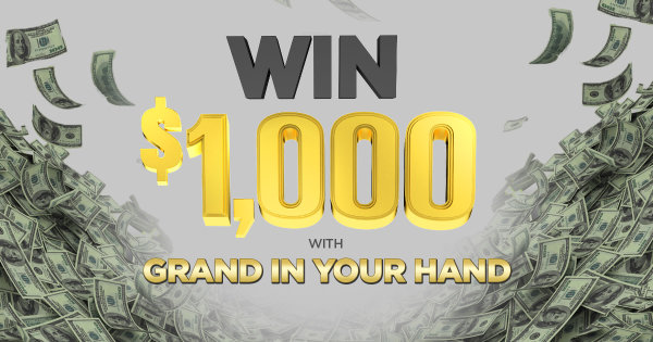 None -   Listen to Win $1,000 with Grand in Your Hand!