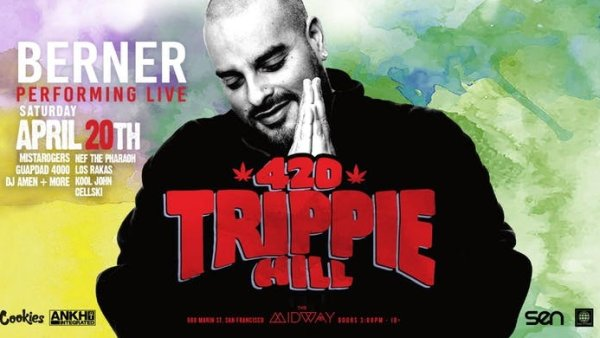 None - Enter To Win Tickets For Trippie Hill With Berner!