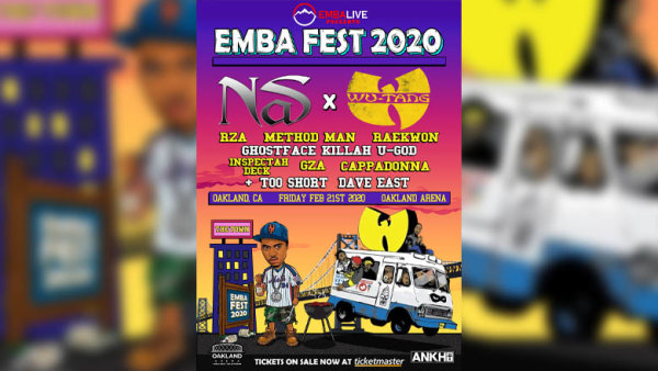 None - Enter For A Chance To Win Tickets to EMBA Fest with Nas, Wu-Tang and more!