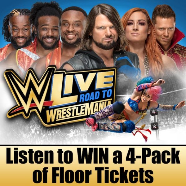 None - WNOK Chance to Win 5th, 4th, 3rd, 2nd, and 1st row at WWE